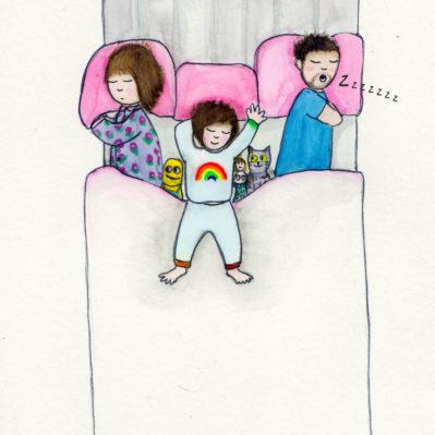 The bed invader