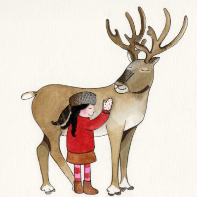 Reindeer friend